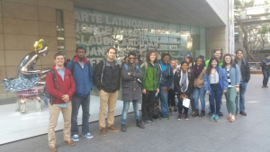 Spanish students at MALBA visit of one of Buenos Aires most interesting museums