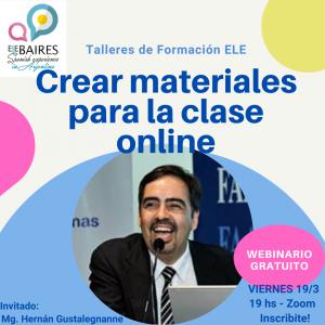talleres de formación para ser profesor de español ELEBAIRES